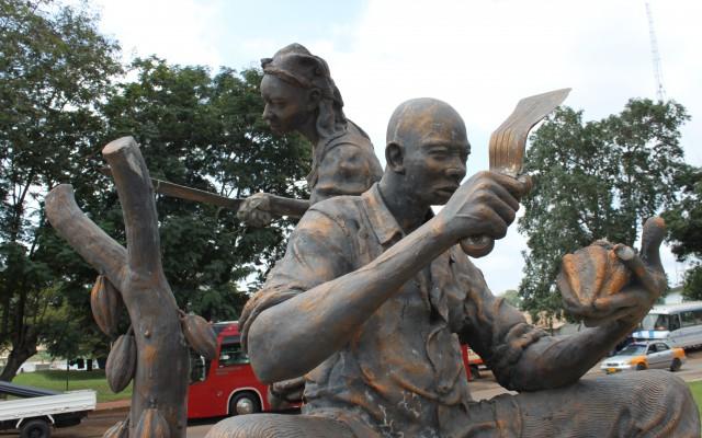 Statue in Kumasi